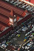 Stabroek Market & Taxis<br /> Georgetown<br /> Georgetown built below sea level<br /> GUYANA<br /> South America