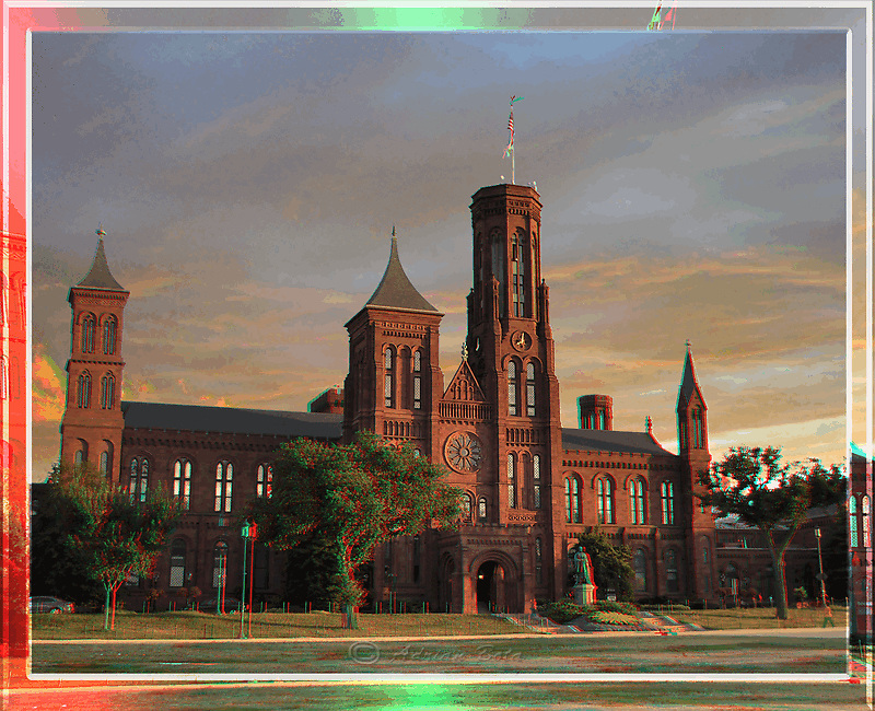 Smithsonian Castle 3D