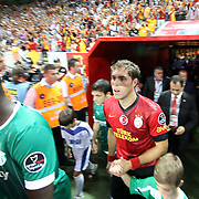 Galatasaray's Johan Elmander during their Turkish Super League soccer match Galatasaray between Bursaspor at the TT Arena at Seyrantepe in Istanbul Turkey on Sunday 02 September 2012. Photo by TURKPIX