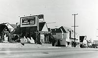 1939 Villa Nova Restaurant on Sunset Blvd. in West Hollywood