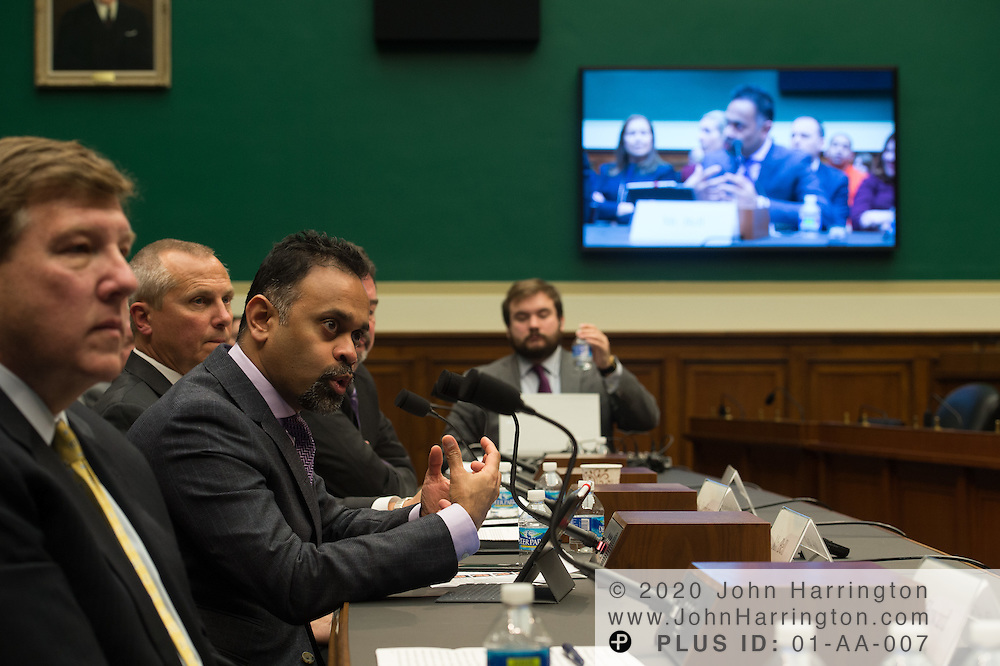 Mr. Ganesh Bell,<br /> Chief Digital Officer and General Manager, Software and Analytics, General Electric testifies at the Modernizing Energy and Electricity Delivery Systems: Challenges and Opportunities to Promote Infrastructure Improvement and Expansion