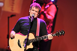 """File photo - South African singer Johnny Clegg performs during """"A touch of Africa """" Gala Night in Monte Carlo, Monaco on September 29, 2012 to open the winter season of SBM with a gala night in honour of South Africa and a Johnny Clegg's live concert at the Salle Garnier. Clegg, has died at the age of 66, after a long battle with pancreatic cancer. Known as the """"white Zulu"""", he was a vocal critic of the apartheid government which ruled until 1994.<br /> The British-born musician, who uniquely blended western and Zulu music, was diagnosed with cancer in 2015. Photo by David Nivirere/Pool/ABACAPRESS.COM"""