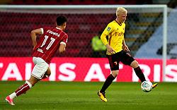 Will Hughes of Watford controls the ball - Mandatory by-line: Robbie Stephenson/JMP - 22/08/2017 - FOOTBALL - Vicarage Road - Watford, England - Watford v Bristol City - Carabao Cup