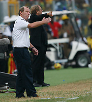 Photo: Steve Bond/Richard Lane Photography.<br />Ghana v Nigeria. Africa Cup of Nations. 03/02/2008. Bertie Vogts on the touchline