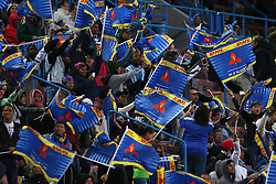 Western Province fans celebrate a try during the Currie Cup Premier Division match between the DHL Western Province and the Pumas held at the DHL Newlands rugby stadium in Cape Town, South Africa on the 17th September  2016<br /> <br /> Photo by: Shaun Roy / RealTime Images