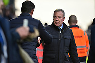 Portsmouth Manager, Kenny Jackett during the EFL Sky Bet League 1 match between Portsmouth and Sunderland at Fratton Park, Portsmouth, England on 22 December 2018.