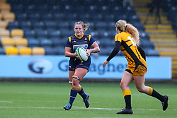 Taz Bricknell of Worcester Warriors - Mandatory by-line: Nick Browning/JMP - 24/10/2020 - RUGBY - Sixways Stadium - Worcester, England - Worcester Warriors Women v Wasps FC Ladies - Allianz Premier 15s- Mandatory by-line: Nick Browning/JMP - 24/10/2020 - RUGBY - Sixways Stadium - Worcester, England - Worcester Warriors Women v Wasps FC Ladies - Allianz Premier 15s