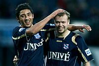 Fotball<br /> Nederland / Holland<br /> Foto: ProShots/Digitalsport<br /> NORWAY ONLY<br /> <br /> willem II -  heerenveen , tilburg 07-12-2008  , eredivisie voetbal , seizoen 2008-2009. reza ghoochchannejhad , christian grindheim