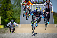 #100 (MAHIEU Romain) FRA during practice of Round 3 at the 2018 UCI BMX Superscross World Cup in Papendal, The Netherlands