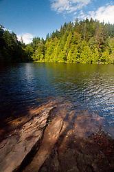 Fragrance Lake Trail, Larrabee State Park, Bellingham, Washington, US