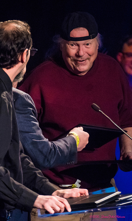 Dave Fry. The 21st Annual Lehigh Valley Music Awards Show<br /> presented by the GLVMA & ArtsQuest, sponsored by Martin Guitar & presented by Tri Outdoor Advertising was held<br /> Sunday, March 1st, 2020 at The Musikfest Cafe at ArtQuest SteelStacks in Bethlehem, Pa..