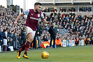 Aston Villa midfielder Robert Snodgrass (7) during the EFL Sky Bet Championship match between Fulham and Aston Villa at Craven Cottage, London, England on 17 February 2018. Picture by Andy Walter.
