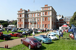 Atmosphere at the St.James's Concours of Elegance at Marlborough House, London on 5th September 2013.