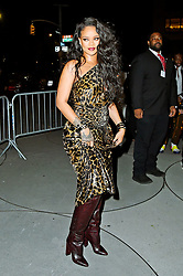 Rihanna arrives to the book launch at the Guggenheim Museum. 11 Oct 2019 Pictured: Rihanna. Photo credit: MEGA TheMegaAgency.com +1 888 505 6342