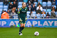 Manchester City Women goalkeeper Ellie Roebuck (26) in action during the FA Women's Super League match between Manchester City Women and West Ham United Women at the Sport City Academy Stadium, Manchester, United Kingdom on 17 November 2019.