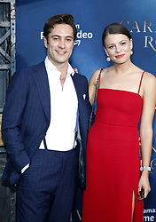 Flora Ogilvy and Arty Froushan at the Los Angeles premiere of Amazon's 'Carnival Row' held at the TCL Chinese Theatre in Hollywood, USA on August 21, 2019.