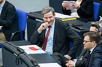 13 FEB 2020, BERLIN/GERMANY:<br /> Metin Hakverdi, MdB, SPD, Sitzung des Deutsche Bundestages, Plenum, Reichstagsgebaeude<br /> IMAGE: 20200213-01-014