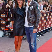 NLD/Utrecht/20100903 - Premiere Queen musical We Will Rock You, Sander Lusink en partner