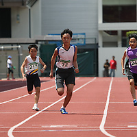 C Boys 100m