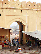 Entrance to the Amber Palace, Amer, Rajasthan