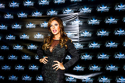LOS ANGELES, CA - JUN 3: Adriana Gallardo attends Despegando Show VIP Launch party at Don Chente's Restaurant in downtown Los Angeles. The reality show is presented by Adriana Gallardo, founder and CEO of Adriana's Insurance. The show will coach chosen participants how to be successful entrepreneurs. 2015, June 3. Byline, credit, TV usage, web usage or linkback must read SILVEXPHOTO.COM. Failure to byline correctly will incur double the agreed fee. Tel: +1 714 504 6870.