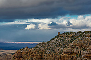 Landscape photographs from Lipan Point, Grand Canyon NP