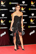 MADRID, SPAIN, 2015, DECEMBER 20 <br /> <br /> Penelope Cruz  looks stunning at awards night in Madrid<br /> <br /> Penelope Cruz continues to reap success with her latest film Mama. The consecrated actress was one of the nominees for Best Actress in the third edition of the Fierce Awards presented annually Cinematographic Reporters Association of Spain held in Madrid. They took place in the Gran Teatro Principe Pio. The Oscar-winning performer took to confess that is eager to work with her husband, Javier Bardem in the upcoming film bet his friend, Fernando Leon de Aranoa<br /> ©Exclusivepix Media
