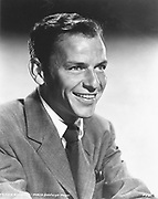 Frank Sinatra (b1915) American film star and singer.