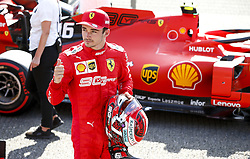 August 31, 2019, Spa-Francorchamps, Belgium: #16 Charles Leclerc (MCO, Scuderia Ferrari Mission Winnow) takes pole position for FIA Formula One World Championship 2019, Grand Prix of Belgium. (Credit Image: © Hoch Zwei via ZUMA Wire)