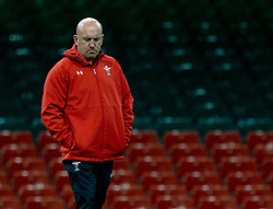 Shaun Edwards Defence Coach of Wales<br /> <br /> Photographer Simon King/Replay Images<br /> <br /> Six Nations Round 5 - Wales v Ireland Captains Run - Saturday 15th March 2019 - Principality Stadium - Cardiff<br /> <br /> World Copyright © Replay Images . All rights reserved. info@replayimages.co.uk - http://replayimages.co.uk