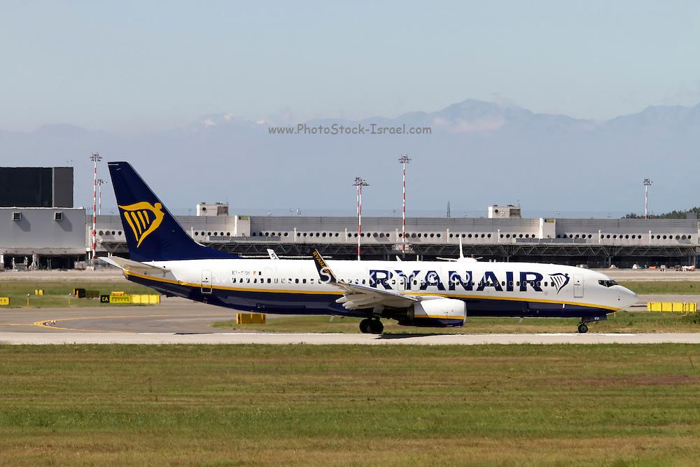 Ryanair Boeing 737 Next Gen at Milan - Malpensa (MXP / LIMC) Italy