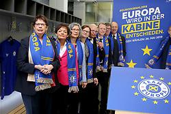 March 27, 2019 - Dortmund, Germany - Launch of the European Ministerial Conference under the Slogan Europe will be decided in the cabin (L-R) BIRGIT HONE (Lower Saxony), LUCIA PUTTRICH (Hesse), ALEXANDRA ZOLLER (Baden-Wuerttemberg), TANJA BAERMAN (Bremen), ULRICH BEYER (Saxony), RONALD PIENKNY (Brandenburg), MATTHIAS HOFMANN (Thuringia), BURKHARD FEVER  (Credit Image: ©  Maik Boenisch/ZUMA Wire)