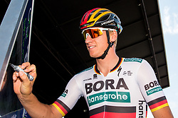 Pascal Ackermann (GER) of Bora - Hansgrohe during 3rd Stage of 26th Tour of Slovenia 2019 cycling race between Zalec and Idrija (169,8 km), on June 21, 2019 in Slovenia. Photo by Matic Klansek Velej / Sportida