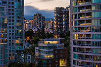 Condos of Vancouver @ Sunset
