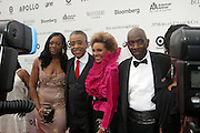 14 June 2010- Harlem, New York- l to r: Dominique Sharpton, Rev. Al Sharpton, Leslie Uggams and Lou Meyers at The Apollo Theater's 2010 Spring Benefit and Awards Ceremony hosted by Jamie Foxx inducting Aretha Frankilin and Michael Jackson, and honoring Jennifer Lopez and Marc Anthony co- sponsored by Moet et Chandon which was held at the Apollo Theater on June 14, 2010 in Harlem, NYC. Photo Credit: Terrence Jennngs/Sipa
