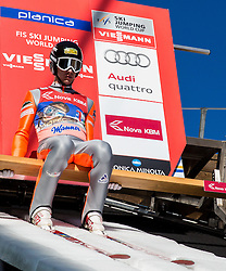 Nicholas Alexander (USA) during Ski Flying Hill Team Competition at Day 3 of FIS Ski Jumping World Cup Final 2016, on March 19, 2016 in Planica, Slovenia. Photo by Vid Ponikvar / Sportida