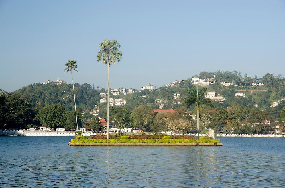 Kandy lake, Central province, Sri Lanka