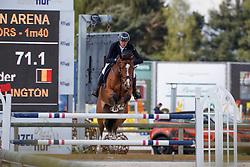 Housen Alexander, BEL, Esprit van de Wellington<br /> Grand Prix CSI -Juniors Azelhof - Lier 2017<br /> © Hippo Foto - Dirk Caremans<br /> 16/04/17