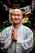Portrait of a Buddhist Monk in Gongju, South Korea.