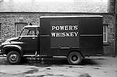 1965 - Powers Distillery vans at John Power Ltd