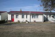 Pre-fab housing, Ipswich, Suffolk, England