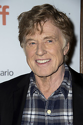 Robert Redford attends the Old Man and The Gun screening held at the Elgin Theatre during the Toronto International Film Festival in Toronto, Canada on September 10th, 2018. Photo by Lionel Hahn/ABACAPRESS.com