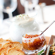 Greater Phoenix native Ron Dimas, chef de cuisine at Orange Sky at Talking Stick Resort in Scottsdale, shares a recipe for a fig and orange blossom jam...Photograph by Jill Richards.www.jillrichardsphotography.com