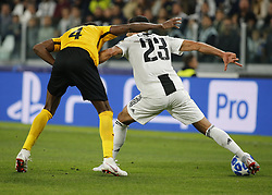 October 2, 2018 - Turin, Italy - Emre Can during Champions League match between Juventus v Young Boys, in Turin, on October 2, 2018. (Credit Image: © Loris Roselli/NurPhoto/ZUMA Press)