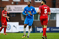 Nyal Bell. Stockport County 1 (6-7) 1 Chesterfield. Emirates FA Cup. 24.10.20