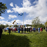 Saltire at Stirling Bridge