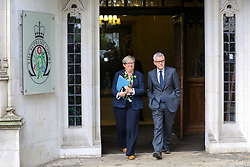 © Licensed to London News Pictures. 24/09/2019. London, UK. Joanna Cherry QC MP - SNP MP for Edinburgh South West and Jolyon Maugham QC and anti-Brexit campaigner leaves Supreme Court in London after the court ruled that the Prime Minister Boris Johnson's decision to prorogue Parliament is unlawful. Last week the court heard an appeal in the multiple legal challenges against the Prime Minister Boris Johnson's decision to prorogue Parliament ahead of a Queen's speech on 14 October.  Photo credit: Dinendra Haria/LNP
