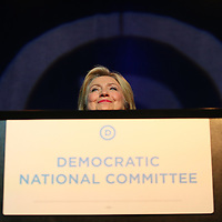 MINNEAPOLIS, MN - AUGUST 28:  Democratic Presidential candidate Hillary Clinton speaks at the Democratic National Committee summer meeting on August 28, 2015 in Minneapolis, Minnesota.  (Photo by Adam Bettcher/Getty Images) *** Local Caption *** Hillary Clinton