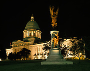 Arkansas State Capitol Building, Little Rock, Arkansas.