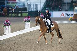 Alice Oppenheimer, (GBR), Headmore Delegate<br /> CDI3* Grand Prix <br /> Royal Windsor Horse Show - Windsor 2015<br /> © Hippo Foto - Jon Stroud